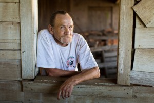 Rick Goff, 64, of Yamhill, Ore., makes ends meet these days with odd jobs and his disability benefits. Credit Susan Seubert for The New York Times