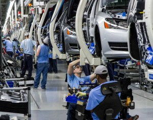 The Volkswagen plant in Chattanooga, Tenn., has had a flurry of union activity the past year. This week, workers seeking an alternative to the U.A.W. succeeded in having their group officially recognized by the German automaker. Credit Erik Schelzig/Associated Press